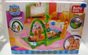 NEW TROPICAL JUNGLE BABY GIFT TOY PLAY MAT ACTIVITY GYM ANIMALS WITH SOUNDS