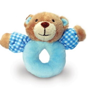 Keel Toys Baby's First Rattle 13cm - Blue