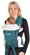 Hoppediz® BONDOLINO® Light Quality petrol/cream - Baby Carrier