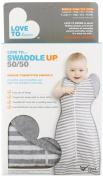 Love To Swaddle Up Medium 50/50 Medium Grey 6 - 8.5kgs