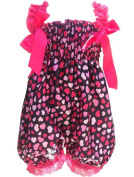 CHIC*MALL Newborn Infant Baby Girl Petti Ruffle Rompers Dress One-Piece Tutu Lace Clothes