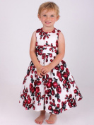 Girls Special Occasion Vintage Rose Dress 6-12 Months - 4-5 years