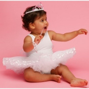 WHITE BABY FAIRY TUTU 12-18 MTHS BY FRILLY LILY