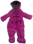 Baby Girls Winter Snowsuit Pramsuit 0-3 Months = 62cm