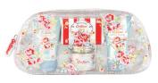 Cath Kidston Blossom Bath and Body Gift Bag Contains Shower Gel 30 ml/ Body Lotion 30 ml/ Bath Salts 45 g/ Soap 25 g/ Face Cloth