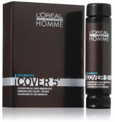Loreal Professionnel Homme Cover 5 Hair Colour Gel - 4 Brown