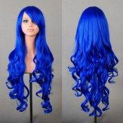 """32"""" 80cm Long Hair Heat Resistant Spiral Curly Cosplay Wig"""