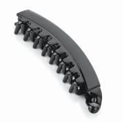 Banana Clip Fish Clip Hair Clip Hair Comb Fish Clip Black Or Tort Banana Clip Black Spring Lock