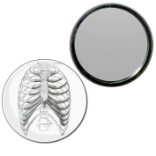 Ribcage - 77mm Round Compact Mirror