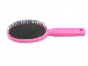 Glamourpuss Boutique® Hair Extensions Loop Brush For Micro Rings Clip-In Bonded Hair Extensions in Hot Pink