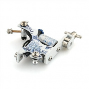 Aluminium Porcelain Tattoo Machine Gun for Shader Liner 8 Wrap Coils