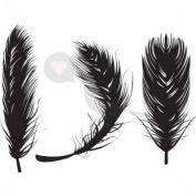 Soft Feathers - Temporary Tattoo by TempTatz