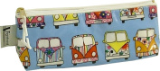 Vagabond Campervan Oil Cloth Pencil Case Style Cosmetics Bag