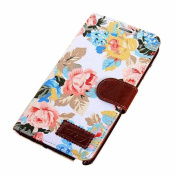 Atdoshop(TM) 1PC Wallet Floral Leather Cover Case For Samsung Galaxy Note 3 N9000