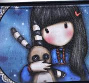 Santoro Eclectic Gorjuss Accessory Case Hush Little Bunny Design New