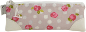 Vagabond Bags Ltd Maisy Coated Flat Pencil Case Cosmetic Bag