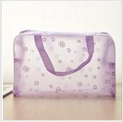 Hengsong--5 Colours transparent PVC waterproof make-up bag/ Travel bag (22*14*9cm)