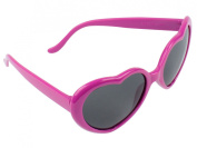 FOONEE Super Cute Heart Shaped Sunglasses Lovely Fashion Eyewear,Roseo