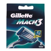 Gillette Mach3 Razor Blade Cartridges