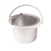 030416 - Deo 500cc Inner Wax Bucket Pot Container Insert Handle White