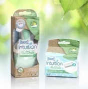 Wilkinson Sword Intuition Naturals Sensitive Razor and 3 Blades