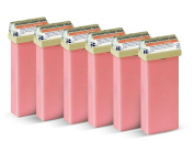 Beauty Image Pink Creme Warm Wax Roll On - Pack of 6