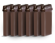Beauty Image Chocolate Warm Wax Roll On - Pack of 6