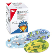 Opticlude Boys and Girls Orthoptic Mini Size Eye Patch Pack of 50