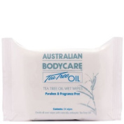Australian Bodycare Tea Tree Oil Handy Pack Wet Wipes