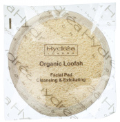 Cleansing & Exfoliating Loofah Facial Pad - Double Sided with Organic Egyptian Cotton