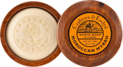 Crabtree & Evelyn Moroccan Myrrh Shave Soap in Wooden Bowl 100 g