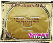 4 x Premium Gold Bio Collagen Crystal Face Mask, Anti ageing Skin Care by Boolavard® TM