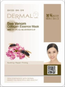 Dermal Korea Bee Venom Essence Moisture mask sheet pack Facial soothing X 24 ea