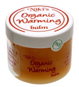 Niki's Organic Warming Balm 50ml