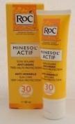 ROC MINESOL ACTIF ANTI WRINKLE SUNCARE 30 IP SPF- UVA -UVB50ML