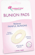 THREE PACKS of Carnation Bunion Relief Oval Pads 4