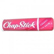 THREE PACKS of Chapstick Cherry