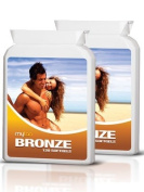 MyTan Bronze Twin Pack Discount Tanning Pills, 240 Softgels, No Canthaxanthin Sunless Tanning Pill