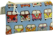 Vagabond Campervan Oil Cloth Cosmetic Toiletries Bag