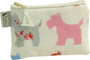 Vagabond Scottie Dog Oil Cloth Cosmetic Toiletries Bag