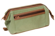 Danielle Hyde Park Canvas Framed Top Zip Wash Bag