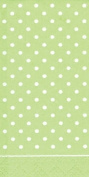 Cath Kidston Paper Pocket Tissues- Large Spot green