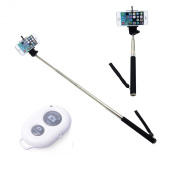 The Original Pic-Stick Extendable Monopod Arm Selfie Pole & Wireless Bluetooth Remote for iPhone & Android