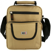 Mens Ladies Canvas Messenger Shoulder/Travel Utility Work BAG Cross Body by RED X