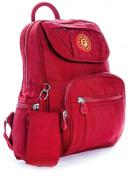 Big Handbag Shop Unisex Lightweight Small Fabric Backpack Bag