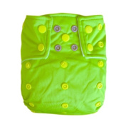 Alva Baby AI2 Colour Snap Reuseable Washable Pocket Cloth Nappy With 2 Liners CB10-EU