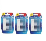 Denti-Brush Interdental Brushes Wire-Free 30-PACK OF 3