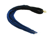 Elysee Star Dreads Black Dark Blue Transitional Dreadlocks Double Ended Synthetic Dread