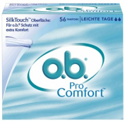 o.b. Pro Comfort Tampons Normal Light Flow Pack of 56