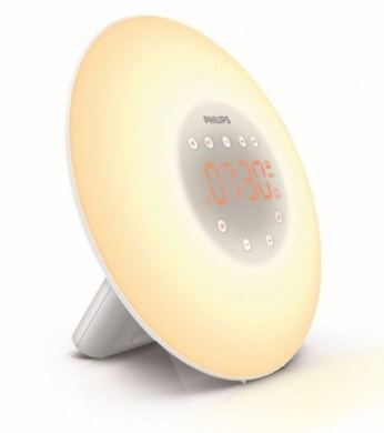 Philips Wake-Up Light Alarm Clock HF3505/01 with Sunrise Simulation - 2  Natural